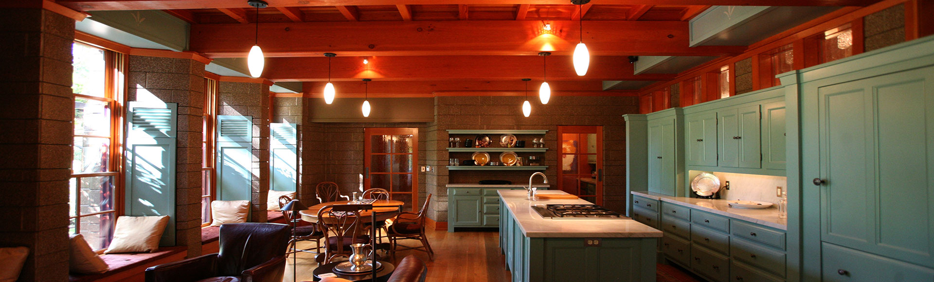 """To make and share food in a room that does not feel like a """"kitchen"""" or a """"dining room."""""""